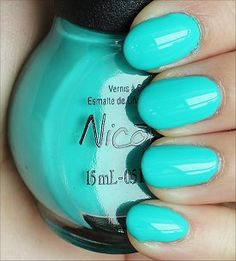 Nicole by OPI - Teal Me Something New