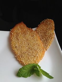 Paleo Sesame Wafers. Done in a jiffy, you won't get enough of these! Use as a garnish or eat alone.
