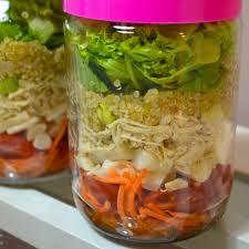 Resultado de imagem para salada de pote