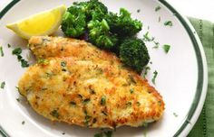 Baked Parmesan Garlic Chicken: ½ cup grated Parmesan cheese, 1 pkg Italian Dressing mix, ½ teaspoon garlic powder, 6 boneless skinless chicken breast halves Yummy and easy I Love Food, Good Food, Yummy Food, Great Recipes, Dinner Recipes, Favorite Recipes, Dinner Ideas, Easy Recipes, Copycat Recipes