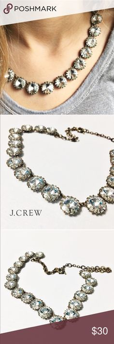 """J. Crew Venus Flytrap Necklace Nothing sparkles like J. Crew's famous Venus Flytrap necklace. Layer it or let it shine alone. Factory version. 17"""" long with a 3"""" extender. Questions? Please ask. Sorry, no trades. Bundle for a discount! J. Crew Jewelry Necklaces"""