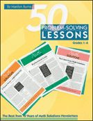 50 Problem Solving Lessons: Grades the Best from 10 Years of Math Solutions Newsletters Maths Solutions, Trade Books, Math Books, Early Childhood Education, Homeschool Curriculum, Student Work, Grade 1, Problem Solving, Mathematics