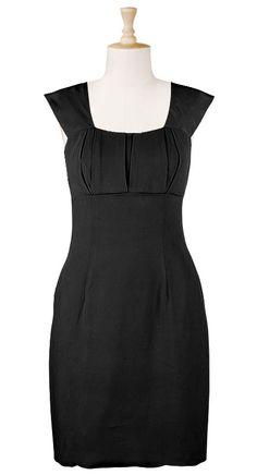 Dress. You get to pick the sleeve style. sleeveless, short, long, cap, elbow, etc.  About $60. Hallelujah.
