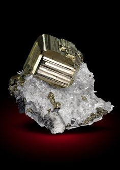 Pyrite with Quartz and Tetrahedrite Mundo Nuevo... - A love for minerals