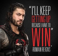 I know he will win this fight! It won't be easy but he WILL beat it ❤🙏 Roman/Joe is the strongest and bravest person ever Wwe Roman Reigns, Roman Reigns Wwe Champion, Wwe Superstar Roman Reigns, Wwe Quotes, Wrestling Quotes, Motivational Quotes, Wrestling Wwe, Golf Quotes, Qoutes