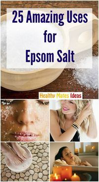Epsom Salt Uses and Benefits