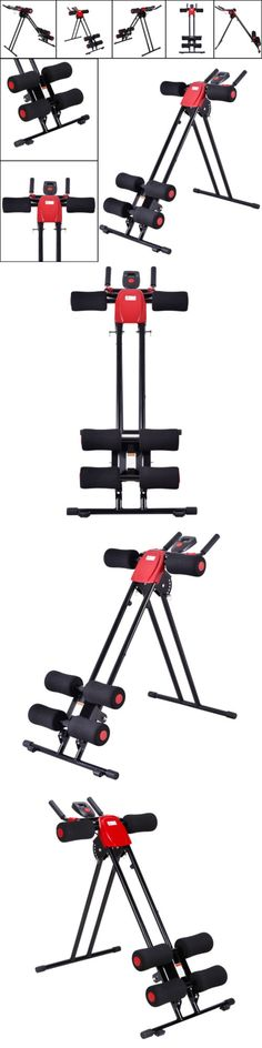 Abdominal Exercisers 15274: New Ab Cruncher Abdominal Trainer 5 Minute Shaper Fitness Core Toner Black + Red -> BUY IT NOW ONLY: $49.99 on eBay!
