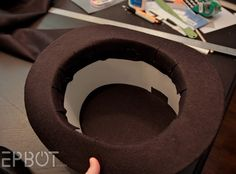 EPBOT-- a brief but very simple to follow guide on how to DIY a top hat for cosplay.