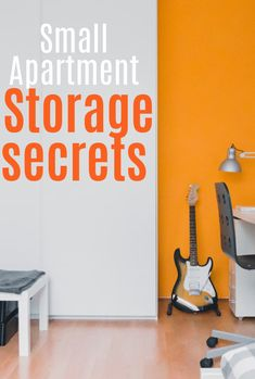 Small Apartment Storage, Small Storage, Small Apartments, Small Spaces, Clutter Free Home, Maximize Space, Home Hacks, Simple House, Beautiful Space