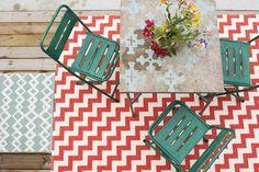 Brita Sweden Outdoor rugs bright colors