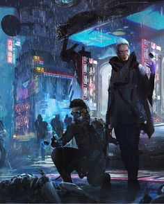 Images: A Collection Of Stunning Sci-Fi & Fantasy Concept Art From Hernan Melzi spoiler free science fiction news from the movie sleuth. Cyberpunk City, Cyberpunk 2077, Arte Cyberpunk, Cyberpunk Aesthetic, Science Fiction Magazines, Science Fiction Art, Dreamland, High Tech Low Life, Space Opera