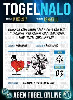 Pools JP 2D Togel Wap Online TogelNalo Bengkulu 29 Mei 2017