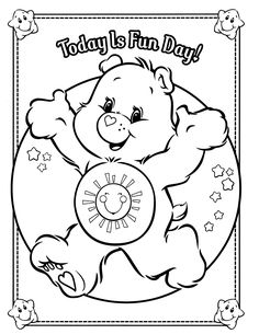 Billedresultat For Care Bears Coloring Pages Page See More
