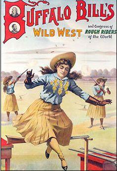 Buffalo Bill's Wild West Poster.
