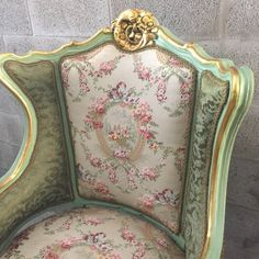 Antique French Louis XVI Sofa Settee Couch by SittinPrettyByMyleen