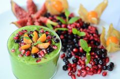 Green smoothie with Clear Response from Innate Response