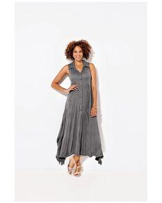 La robe asymétrique grande taille femme TAILLISSIME