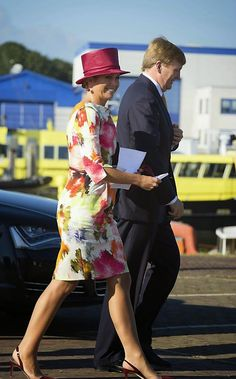 ♥•✿•QueenMaxima•✿•♥...King Willem-Alexander and Queen Maxima visited Noord-Holland, September 12, 2014