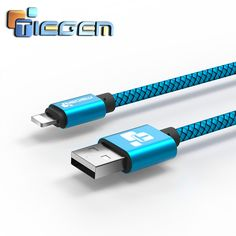 Tiegem cargador usb cable para iphone 5 5s 6 6 s ipad se para ipad air mini cable 1 02 m coche cable de teléfono móvil de carga rápida Cables