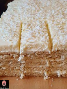 Dea's Cakes: Prajitura Alba Ca Zapada- Snow White Cake Pastry Recipes, Cake Recipes, Orange Olive Oil Cake, Snow White Cake, Lily Cake, Cheese Pancakes, Cheese Ingredients, Sweet Spice, English Food