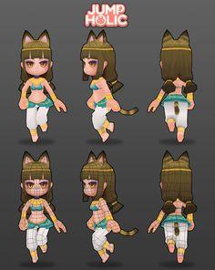 JumpHolic_Cat modeling
