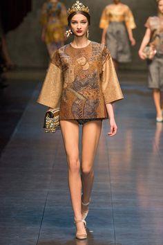Dolce&Gabbana otoño-invierno 2013/14