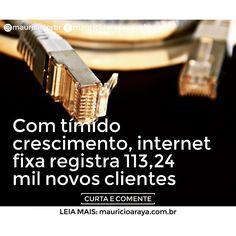 Nos últimos 12 meses banda larga fixa apresentou aumento de 157 milhão de usuários segundo dados da Agência Nacional de Telecomunicações (Anatel). Leia no Blog do Maurício Araya: www.mauricioaraya.com.br  #internet #bandalarga #telecomunicações #anatel #brasil #blog #notícias #mauricioaraya #mauriciojorbr