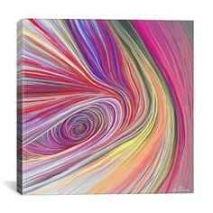 """Pure Abstract Bis"" by Ben Heine Graphic Art on Canvas $36.99"