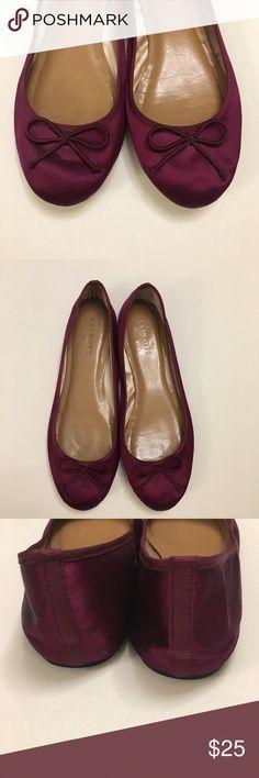 Talbots Silk Ballet Flats Talbots Silk Ballet Flats with silk lining Talbots Shoes Flats & Loafers