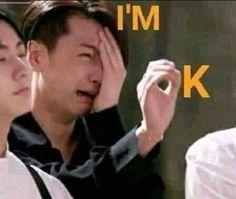 Jay Park, Funny Kpop Memes, Bts Memes, Meme Faces, Funny Faces, K Pop, Image Meme, Reaction Face, Cartoon Jokes