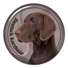 Deutsch Kurzhaar 3D sticker - #deutschkurzhaar #kurzhaar #germainshorthaired #bracoaleman