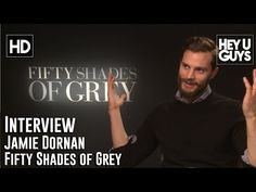 Jamie Dornan Interview - Fifty Shades of Grey - YouTube