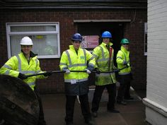 Apprentices from Dale Power Solutions connect Bedford Hospital