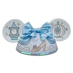 OMG i just found a WHOLE BOARD of mickey ears...like who even knew?? Cinderella Ear Hat