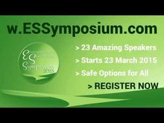 REGISTER: FREE Environmental Sensitivities Symposium 2015 - Whether you have Multiple Chemical Sensitivities (MCS), Lyme disease, Biotoxin-Related Illnesses, Chronic Fatigue Syndrome, Electromagnetic Hypersensitivity, Learning Disorders or Food Intolerances, we have something for each of you. MORE: http://ecohealthsolutions.com.au/symposium/