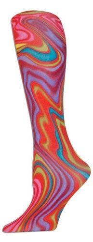 #Rainbow Swirl Adult #Tights, $18
