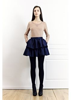 erotokritos high waist frill skirt. so sweet and girly.
