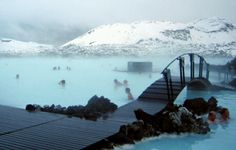The Blue Lagoon (a geothermal spa)Grindavík, Iceland