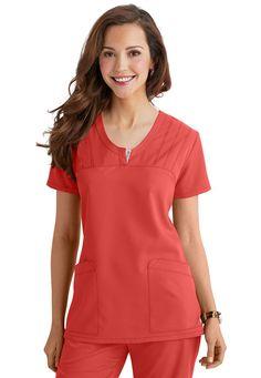 Greys Anatomy v-neck scrub top Dental Scrubs, Medical Scrubs, Nurse Scrubs, Beauty Therapist Uniform, Dentist Costume, Scrubs Pattern, Scrubs Uniform, Greys Anatomy Scrubs, Medical Uniforms