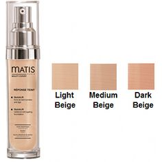 Skin Type: All Matis Reponse Teint Quicklift Description: Matis Reponse Teint Quicklift pulls double-duty as both a serum and a foundation. Infused with hyaluronic acid, it provides lasting hydration that smoothes skin and increases elasticity. Dark Beige, Smooth Skin, Serum, Make Up, Cosmetics, Beauty, Colors, Soft Leather, Makeup