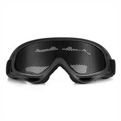 Tactical Airsoft Safety Goggles Eye Protection Metal Wire Mesh