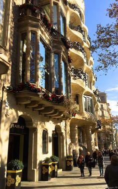 City side of Barcelona