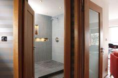 Penthouse - Milltown | RK Designs Living Area, Living Room, Penthouse Apartment, Shelving, Custom Design, Flooring, Contemporary, Interior Design, Bathroom