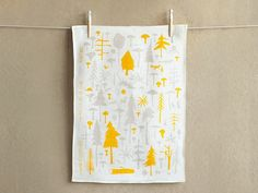 Wilderness Experience Tea Towel   designed and handmade by Makelike, Portland Oregon  #gifts #kitchen