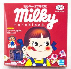 Milky Peko-chan Fujiya Kawada Nanoblock Nano Block NBH-063 JAPAN ANIME MANGA