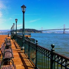 Favorite spot, behind the Ferry Building in the shadow of the Bay Bridge, San Francisco