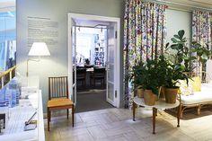 Interior from Svenskt Tenns's store, Strandvägen 5 in Stockholm.