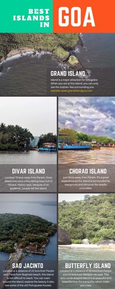 List of Top Islands in Goa - You better experience everything and then make a list of 5 Popular Islands of Goa. So, here I am to make your task easy. Travel Destinations In India, Goa Travel, Wanderlust Travel, Beautiful Places To Travel, Best Places To Travel, Cool Places To Visit, Camping Photography, Nature Photography, Holiday Places