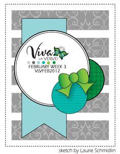**Viva la Verve! February Week 3 {2/17/12}**: Verve Stamps - Splitcoaststampers
