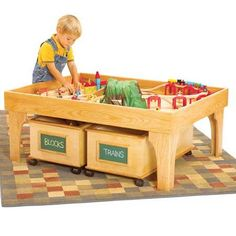 train table woodworking plans